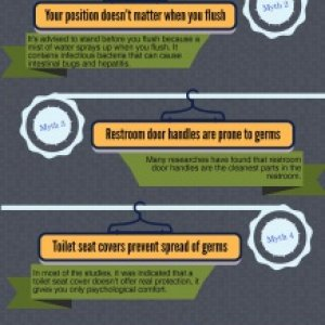 6 facts about restroom germ myths. http://bit.ly/MJ6fargm